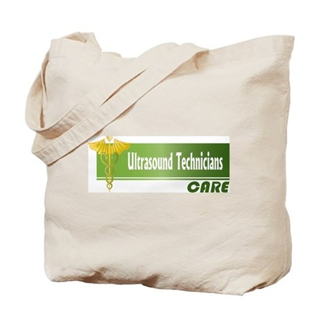 Ultrasound Technicians Care Tote Bag