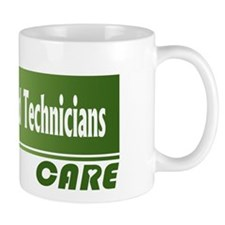 Ultrasound Technicians Care Small Mug