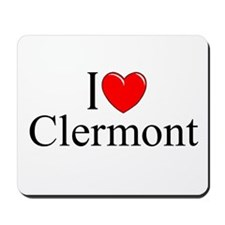 """""""I Love Clermont"""" Mousepad"""