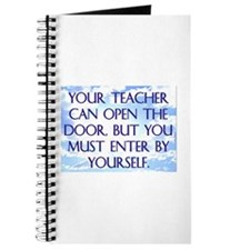YOUR TEACHER CAN OPEN THE DOOR Journal