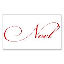 Noel Decal