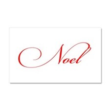 Noel Car Magnet 20 x 12