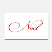 Noel Car Magnet 20 x 12