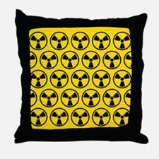 Radioactive Pattern Throw Pillow
