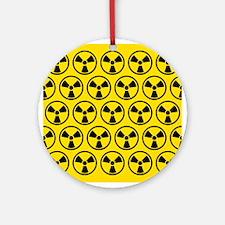 Radioactive Pattern Ornament (Round)