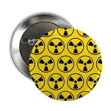 """Radioactive Pattern 2.25"""" Button"""