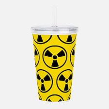 Radioactive Pattern Acrylic Double-wall Tumbler