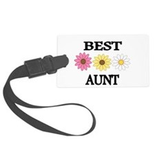 Best Aunt Luggage Tag