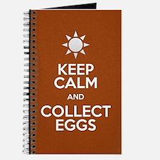 Keep Calm Collect Eggs Journal