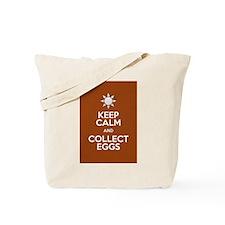 Keep Calm Collect Eggs Tote Bag