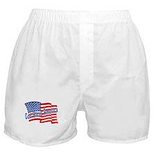GOD BLESS AMERICA July 4th Boxer Shorts