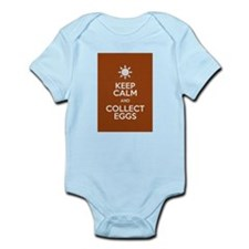 Keep Calm Collect Eggs Body Suit