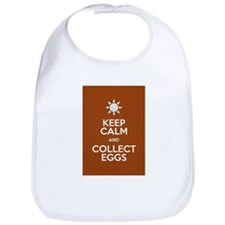 Keep Calm Collect Eggs Bib