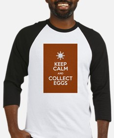 Keep Calm Collect Eggs Baseball Jersey