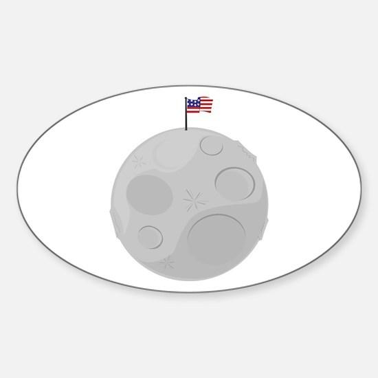 Moon Landing Decal