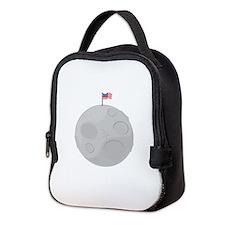 Moon Landing Neoprene Lunch Bag