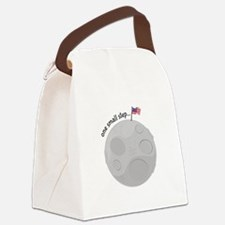 One Small Step Canvas Lunch Bag