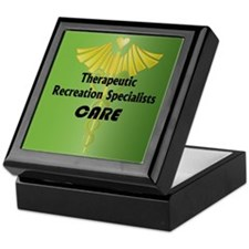 Therapeutic Recreation Specialists Care Tile Box