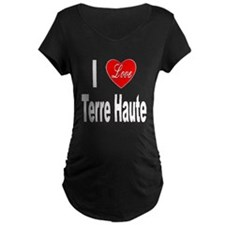 I Love Terre Haute (Front) T-Shirt
