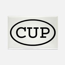 CUP Oval Rectangle Magnet