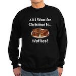 Christmas Waffles Sweatshirt (dark)