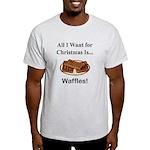 Christmas Waffles Light T-Shirt