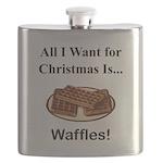 Christmas Waffles Flask