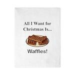 Christmas Waffles Twin Duvet