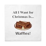 Christmas Waffles Queen Duvet
