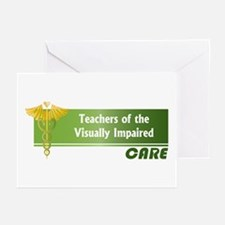 Teachers of the Visually Impaired Care Greeting Ca