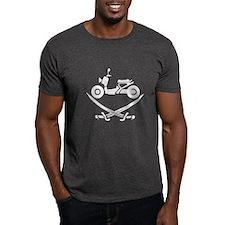 Ruckus Pirate Grey T-Shirt