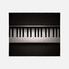 Piano Throw Blanket