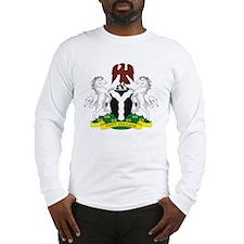 Nigeria Coat of Arms Long Sleeve T-Shirt