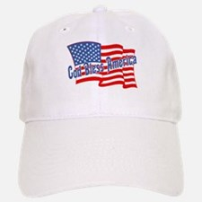 GOD BLESS AMERICA July 4th Baseball Baseball Cap