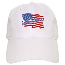 GOD BLESS AMERICA July 4th Baseball Cap