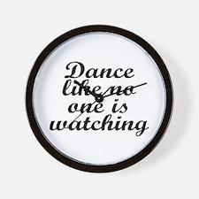 Dance like no one - Wall Clock