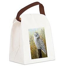 Bird 65 Owl Canvas Lunch Bag