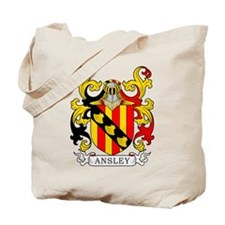 Ansley Coat of Arms Tote Bag