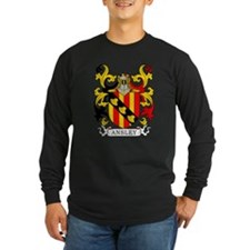 Ansley Coat of Arms Long Sleeve T-Shirt