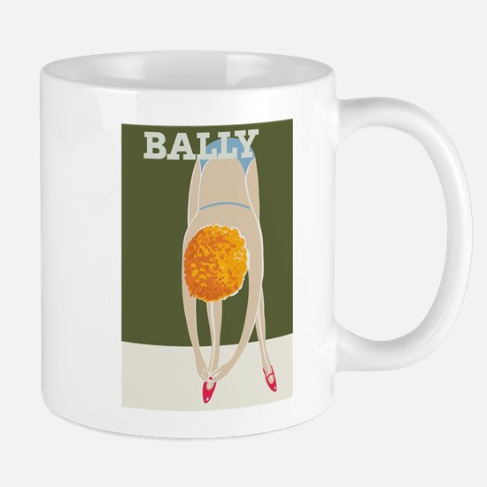 Bally Shoes; Vintage Poster Mugs