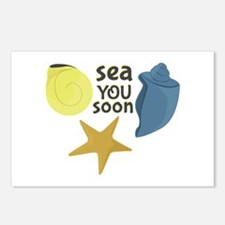 Sea You Soon Postcards (Package of 8)