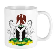 Nigeria Coat of Arms Mug