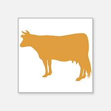 Brown Cow Sticker