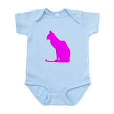 Pink Cat Body Suit