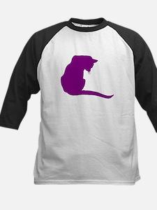 Purple Cat Baseball Jersey