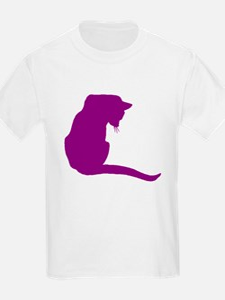 Purple Cat T-Shirt
