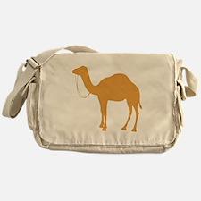 Brown Camel Messenger Bag