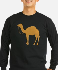 Brown Camel Long Sleeve T-Shirt