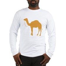 Brown Camel Long Sleeve T-Shirt