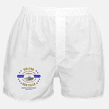 USS TILLS DE-748 WORLD WAR II Boxer Shorts